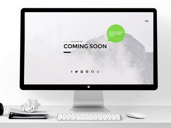 Coming Soon.... - css3 webdesign ui ux html5