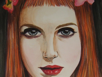 Hayley Williams - hayleywilliams portrait traditionalart aquarelle paramore