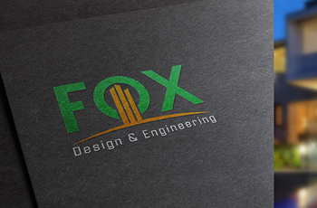 Fox Design and Engineering Logo - logo vector