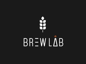 BrewLab - logo abstract vector identity branding